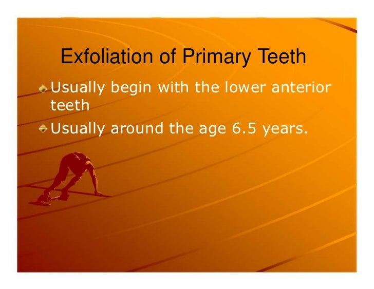 Premature exfoliation of primary teeth Slide 2
