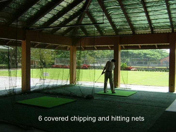 6 covered chipping and hitting nets