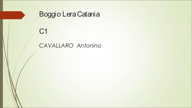 Boggio LeraCatania C1 CAVALLARO Antonino