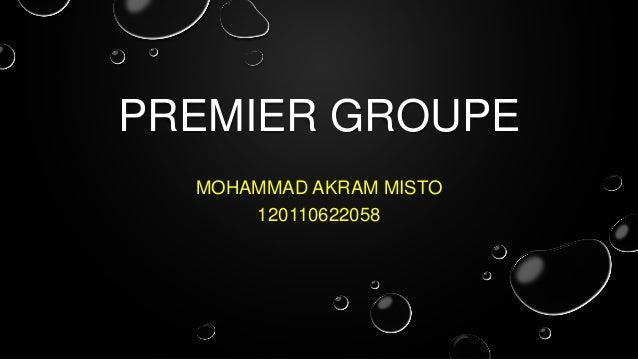 PREMIER GROUPE MOHAMMAD AKRAM MISTO 120110622058