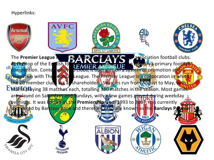 English premier league 2