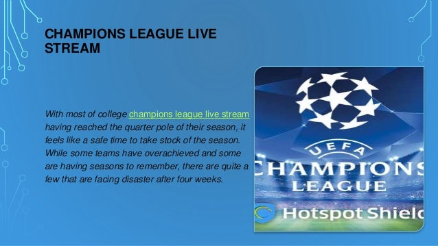 Champions League Live Stream Ru