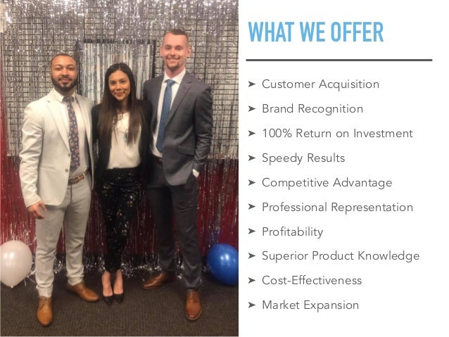 What Does Premier Marketing Concepts Do? Slide 3