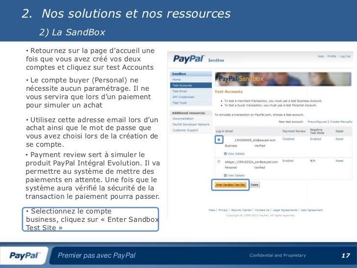 Premier pas avec pay pal - Paypal paiement en plusieurs fois ...