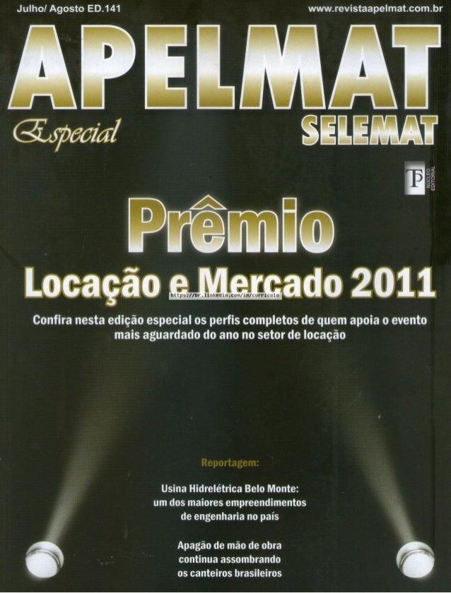 Julhol Agosto ED.141 www. revistaape| mat. com. br  QWPELMAT  SEIEMAT  NUCL EDITO I L  https: l/hr.1inkedin. com/ in/ curr...