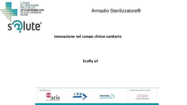 Armadio Sterilizzatore® Ecofly srl Innovazione nel campo clinico-sanitario