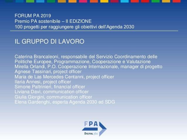 Premio pa sostenibile_2019_regione emilia-romagna Slide 3