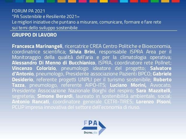 Premio pa sostenibile e resiliente 2021   template ppt-compilato Slide 3
