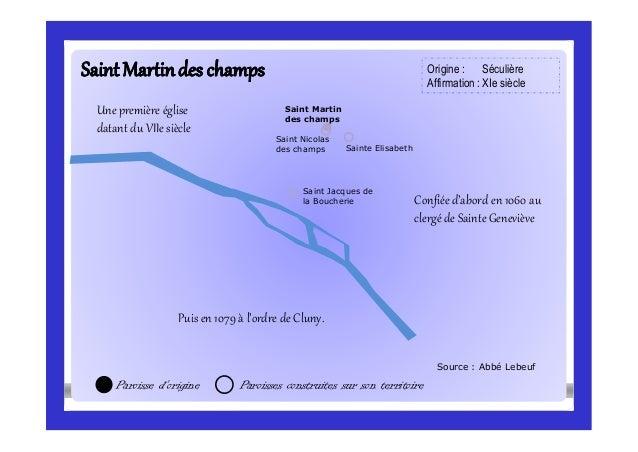 SaintMartindes champsSaintMartindes champs Source : Abbé Lebeuf Saint Jacques de la Boucherie Sainte Elisabeth Saint Nicol...