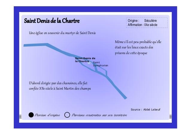 SaintDenisde la ChartreSaintDenisde la Chartre Source : Abbé Lebeuf Saint Symphorien Paroisse d'origine Paroisses construi...