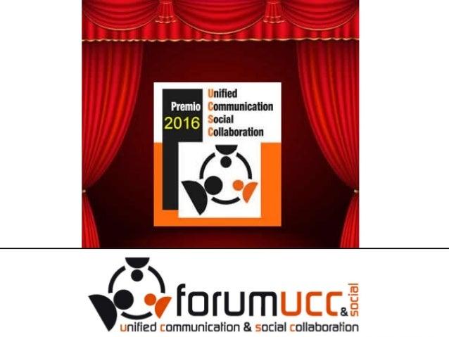 Scenario Testimonianze Consegna premi 2016 Mario Massone fondatore del Forum UCC+Social Milano, 30 novembre 2016