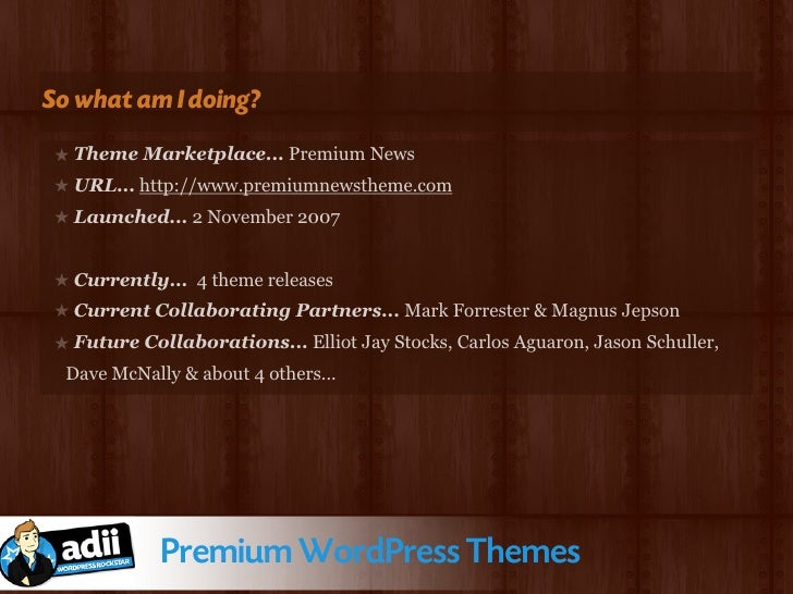 So how do the themes look?               Premium WordPress Themes
