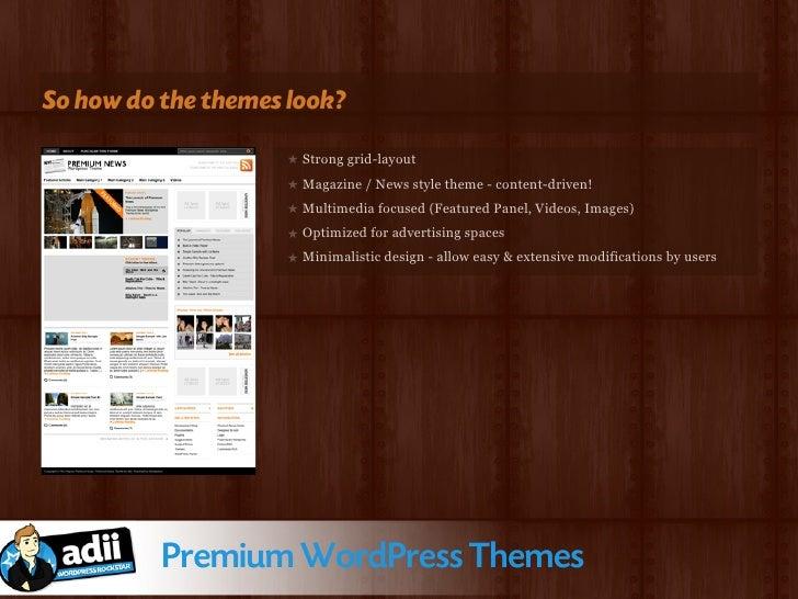 Sales!? Huh!?               Premium WordPress Themes