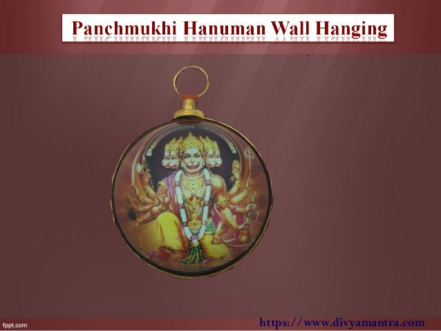 Premium brass panchmukhi hanuman wall hanging 4 httpsdivyamantra aloadofball Images