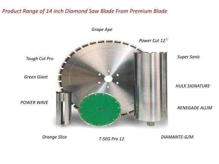 """14/"""" Diamante Supreme Masonry Diamond Blades-"""