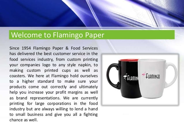 Premium disposable tableware solutions flamingo paper and food services llc  sc 1 st  SlideShare & Premium disposable tableware solutions flamingo paper and food servu2026