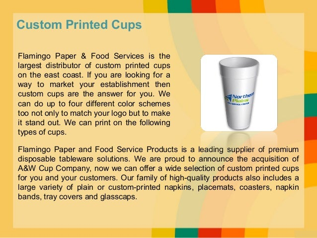 6.  sc 1 st  SlideShare & Premium disposable tableware solutions flamingo paper and food serv\u2026