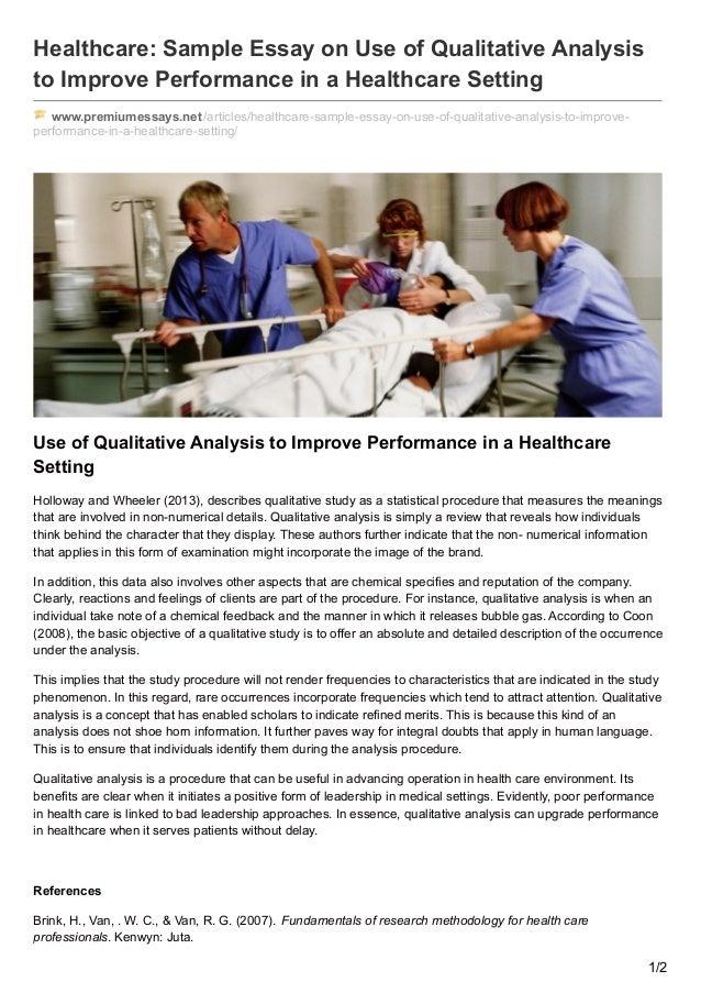 argumentative essay about health care