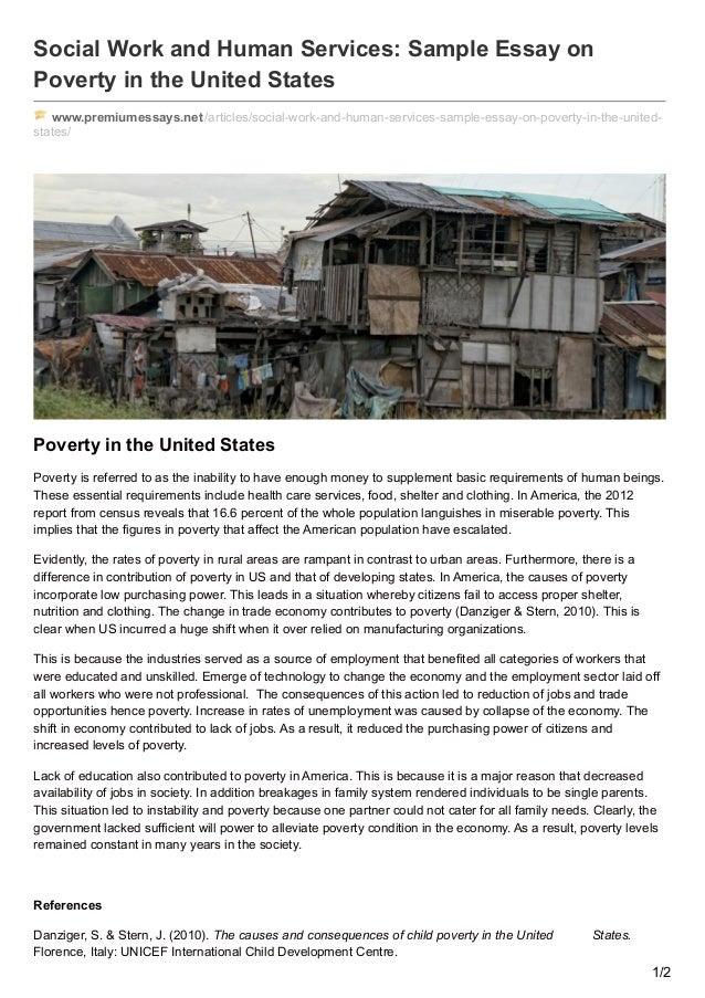 child poverty essay thesis