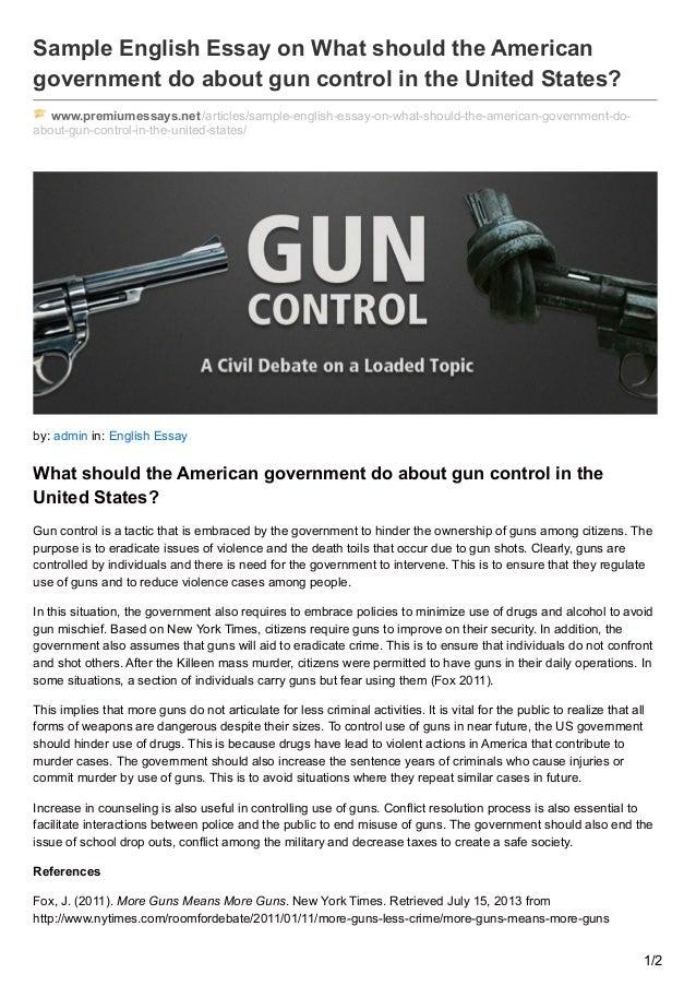 Essay On Gun Laws  Romefontanacountryinncom Essay On Gun Laws Physics Homework Directions To Find Effective Help Gun  Ownership