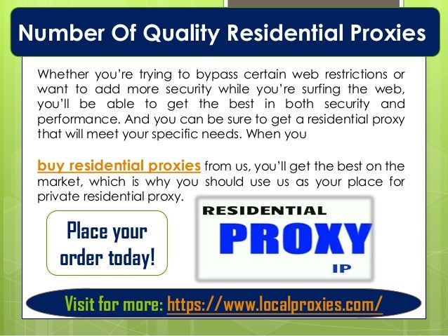 Residential Backconnect Proxy | Try Us Risk Free for 48 Hours | Loca…