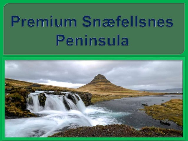 An ideal retreat for the wanderlust in pursuit of tranquility:Travel west to Snæfellsness on this remote journey, to the c...