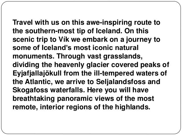 Premium southern iceland Slide 2