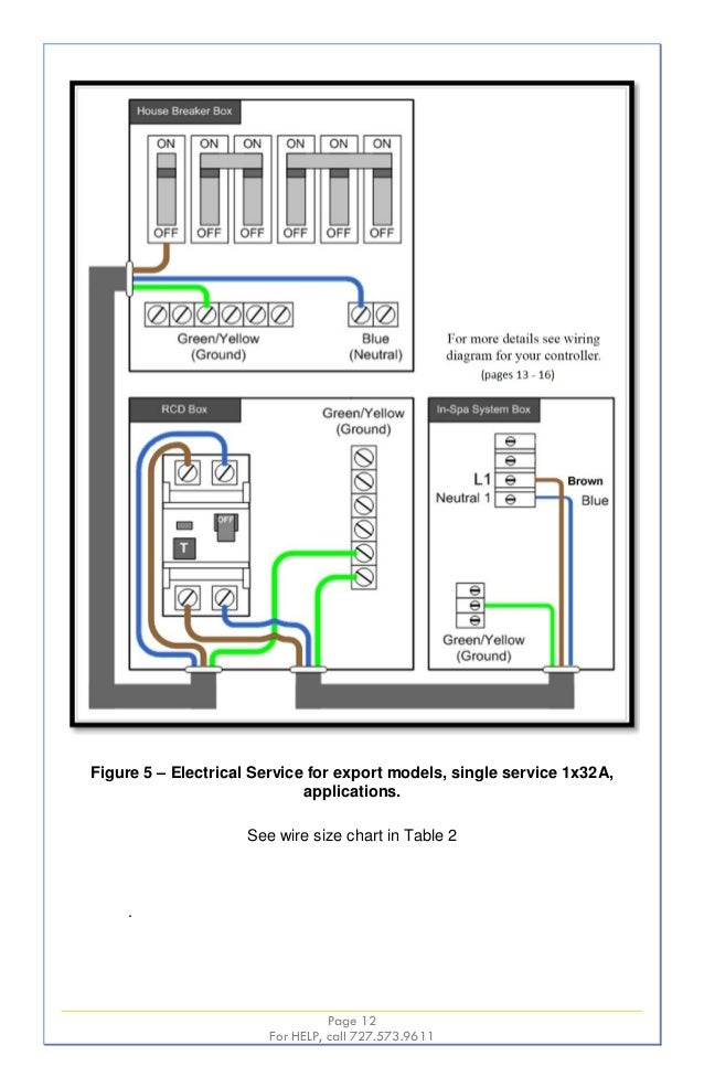 220 Wire Diagram Hot Springs Spa Dolgularcom