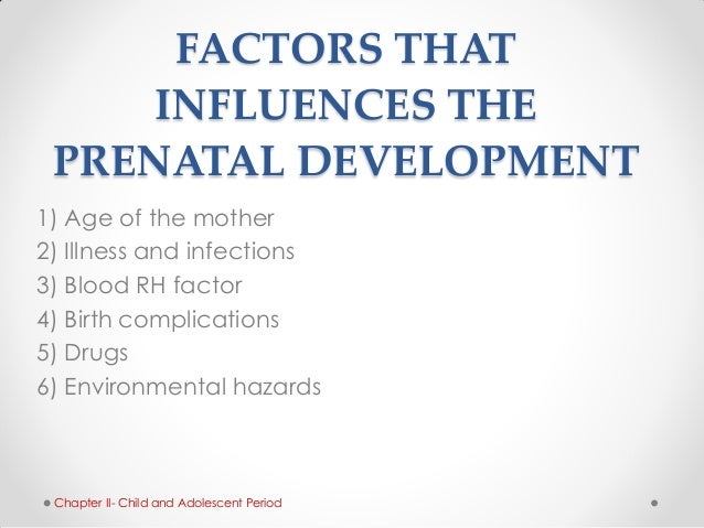 external forces that influences the development From the many factors affecting the child's development, we have taken some examples to illustrate each category environmental factors factor or condition.