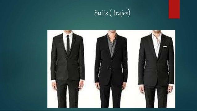 Prendas De Vestir En Ingles