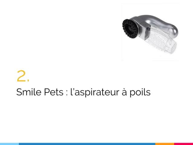 2. Smile Pets : l'aspirateur à poils