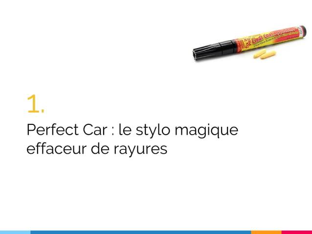 1. Perfect Car : le stylo magique effaceur de rayures