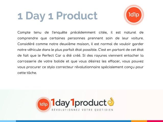 1 Day 1 Product Compte tenu de l'enquête précédemment citée, il est naturel de comprendre que certaines personnes prennent...