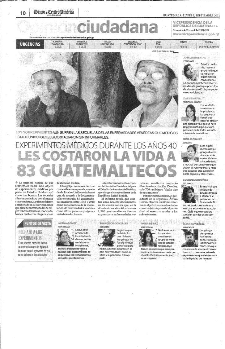 Prensa escrita 2011