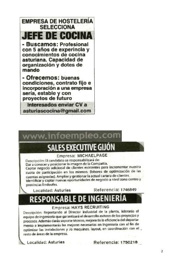 ofertas de trabajo en prensa semana 51 2014