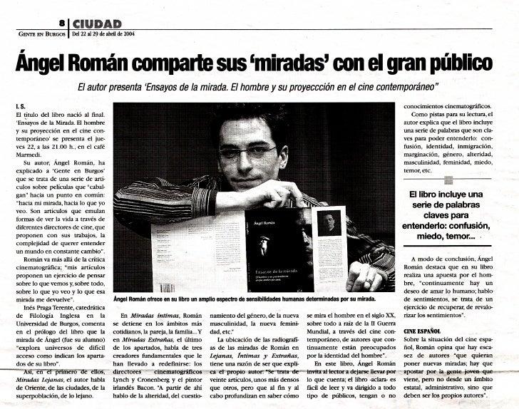 Prensa Ángel Román