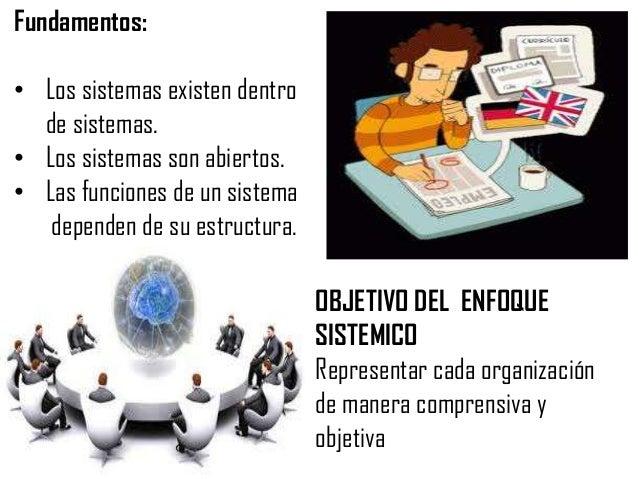 Propiedades del enfoque sistémicoEn el sentido estricto de la palabra, el sistema es un conjunto de elementosrelacionados ...