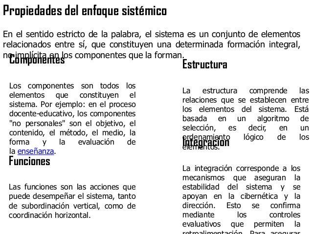 SISTEMATIZACIÓNEN EL PROCESO DEESTUDIOTener conocimientos sistemáticos de un problema significaposeer una síntesis de conj...