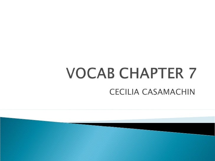 CECILIA CASAMACHIN