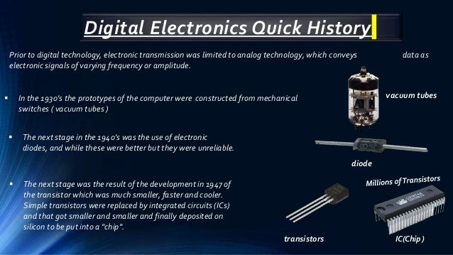 Digital Electronic and it application