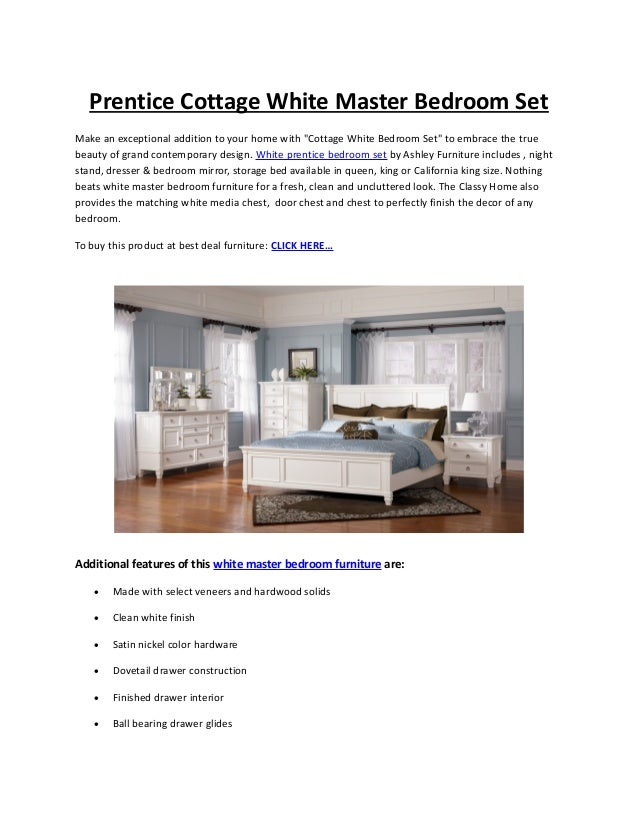 Prentice Bedroom Set from Millennium Design by Ashley - The Classy Ho…