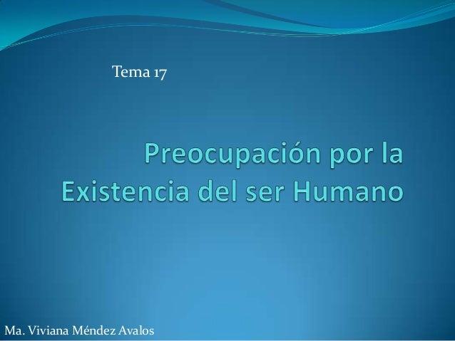 Tema 17Ma. Viviana Méndez Avalos