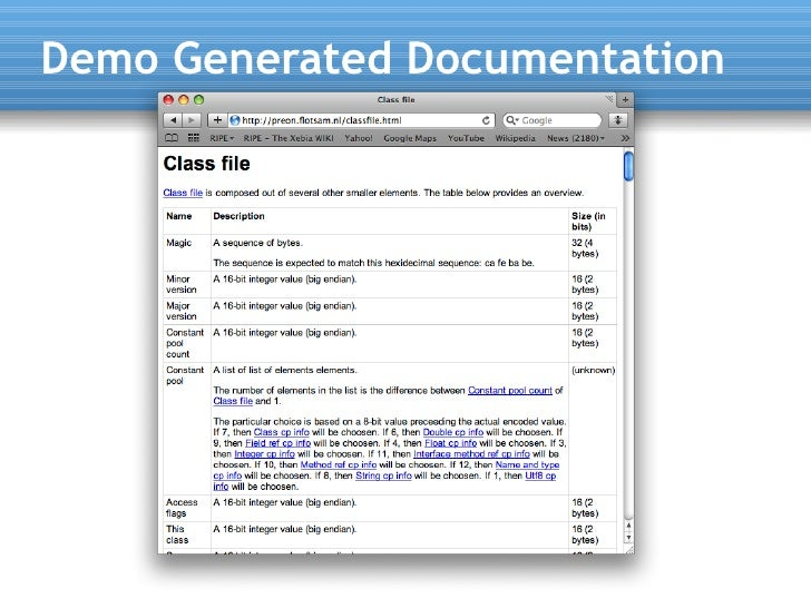 Demo Generated Documentation