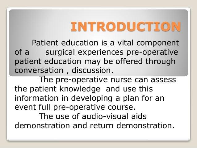 Pre operative and post operative care Slide 3