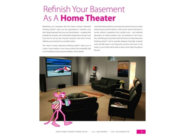 your basement with the owens corning basement finishing system