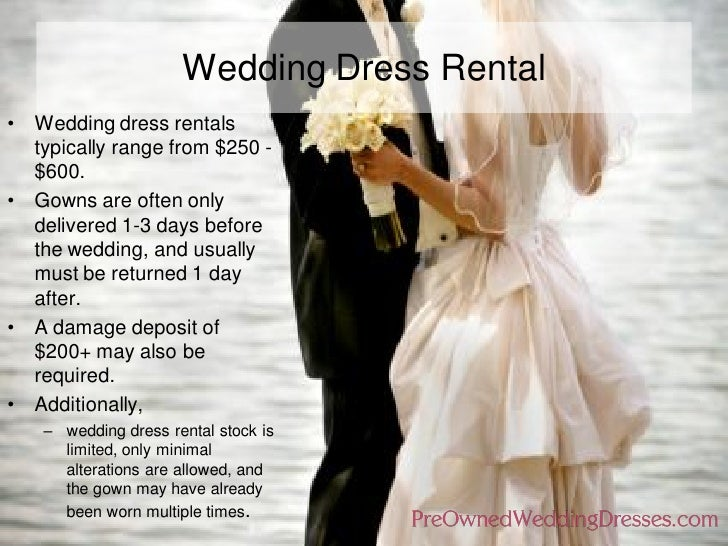 Wedding Dress Rental ...