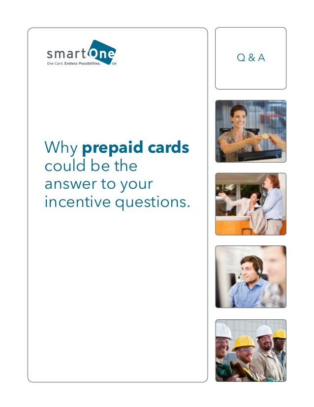 Why prepaid cards could be the answer to your incentive questions. Q & A