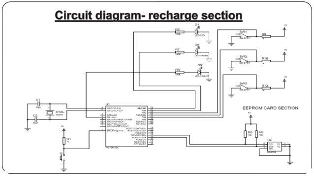 Energy Meter Circuit Diagram | Prepaid Energy Meter Using Smart Card
