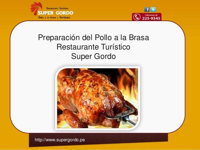 preparacion del pollo
