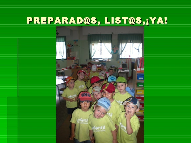 PREPARAD@S, LIST@S,¡YA!